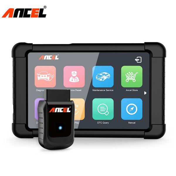Ancel X5 OBD2 WiFi Diagnostic Tool Full System Car Diagnostics Scanner OBD ABS Airbag EPB Oil Light Reset DPF Automotive Scanner