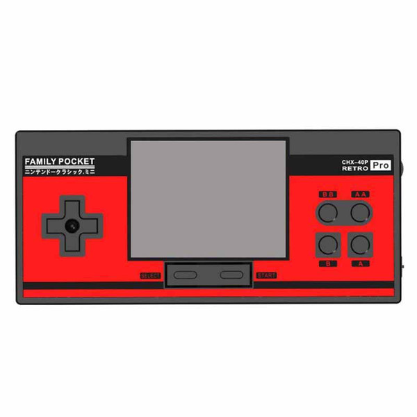Retro Handheld Game Console Family Pocket 3.0 inch Screen Portable Mini Video games consoles Can Store 348 Games Support TV Video Output