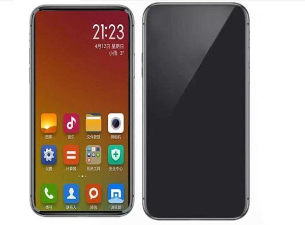 Goophone x i8 5.5 pulgadas Quad Core 1G Ram 4G Rom show 4g lte Show 256GB Llamada desbloqueada de teléfono celular 3G