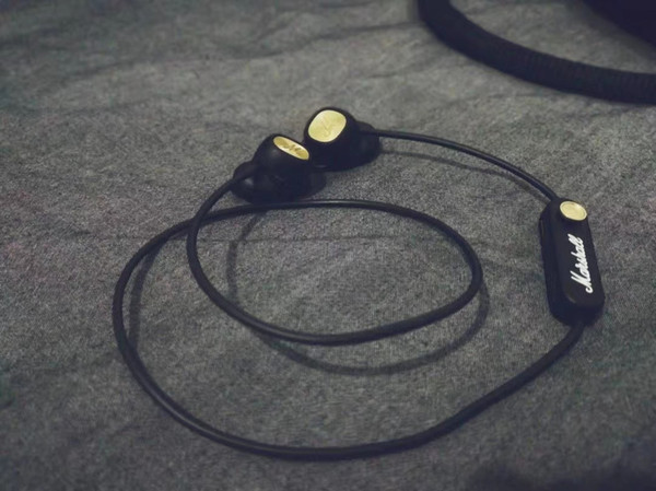 Marshall minorII Bluetooth Headset Car Bluetooth Headset Stereo sound high sound quality Dual Ear Sports In-Ear Headphones 003