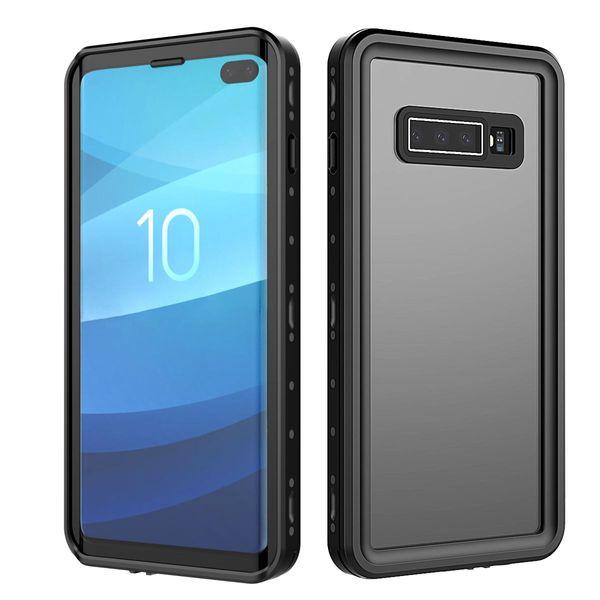 Custodia impermeabile IP68 originale per Galaxy S10 Plus Protezione anti-neve resistente agli urti con Touch ID per la cover della custodia Samsung Galaxy S10