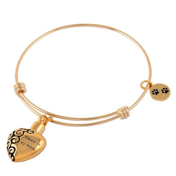Ijb5017 нержавеющая сталь кремации урна браслет Бог имеет Вас в руке ювелирные изделия для пепла воспоминания женский браслет подарок