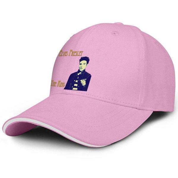 Персонализированные Мужчины Женщины кепка дальнобойщика The King Elvis Presley дизайнерские бейсбольные кепки Пигментные шапки All Cotton