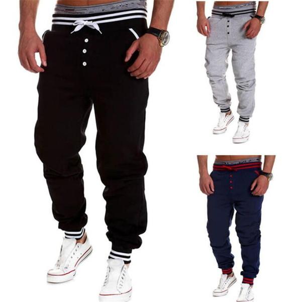 Fashion Sweat Pants Athletic Sport Casual Tapered Sport Hip Hop Dance Trousers Slacks Joggers Sweat Pants
