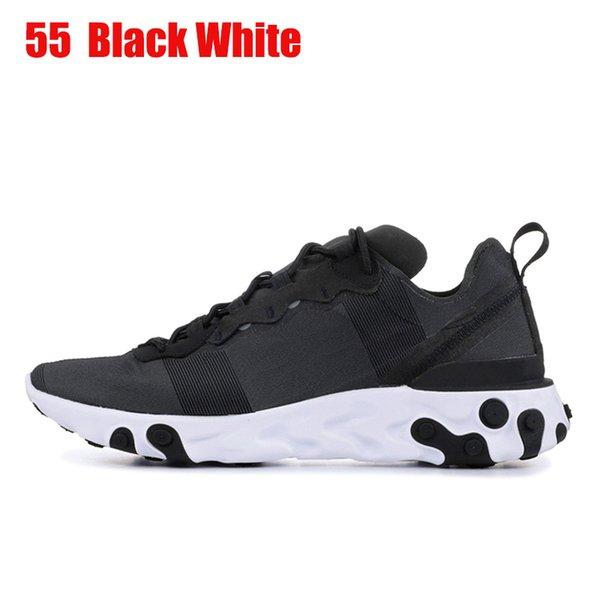 55 36-45 Black White