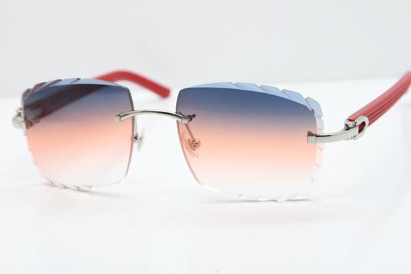 Silver Smalt Orange Lens
