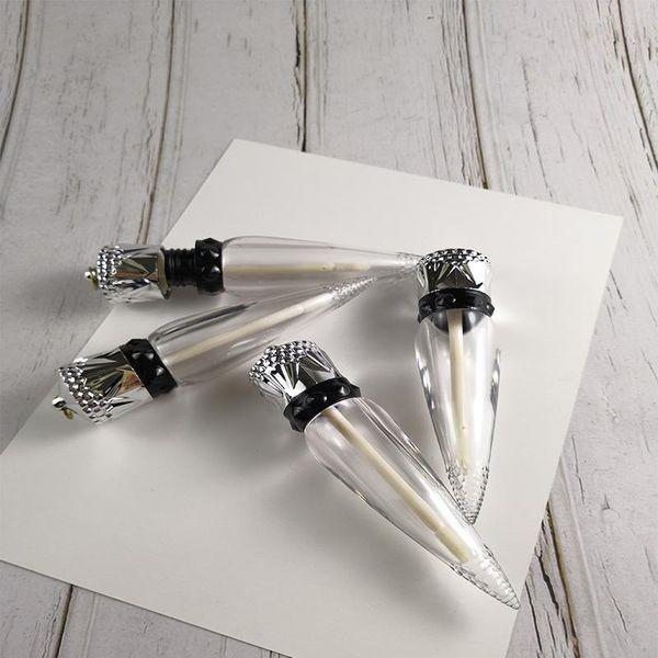 all'ingrosso 7ML plastica trasparente vuoto Lip Gloss tubi all'ingrosso della bottiglia riutilizzabile della Lip Balm Contenitori trasporto veloce