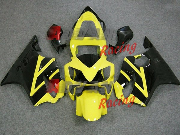 New Bodywork ABS fairings Kits Fit for HONDA Injection mold CBR 600 F4i FS 01 02 03 CBR600 2001 2002 2003 fairing kits black yellow