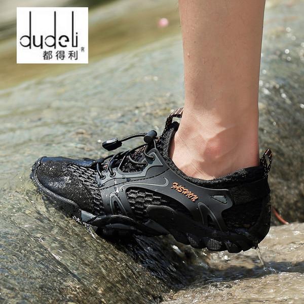 0c62b201af0c 2017 Aqua Shoes Ultra-light Quick-drying Beach Water River Walking Summer  Men Breathable