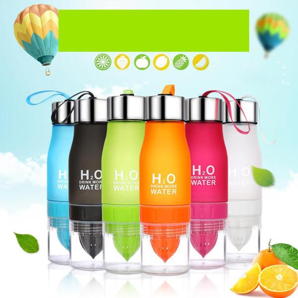 650ML Lemon Cup Bottle H2O Drink Mehr Wasser Trinkbecher Das Material für Sicherheit in einfachen Designs