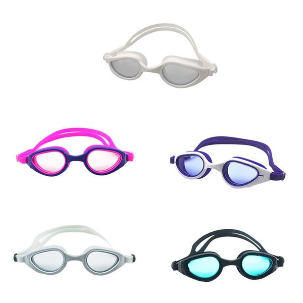 a85b06dae395 2019 Nuovi accessori per l'abbigliamento sportivo Occhiali da nuoto  multicolore Bambini Occhiali antiappannamento lenti