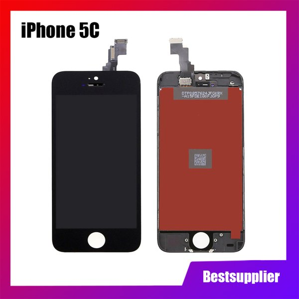 High Quality for iPhone 5 5S/5SE 5C LCD Display Touch Screen Replacement Digitizer Ecran Pantalla LCD Assembly Black & White