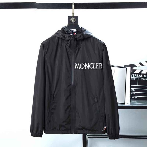 Autumn Mens Jackets Coat Fashion Brand Hooded Jacket For Men Windbreaker Zipper Hoodies Designer Mens Sportwear