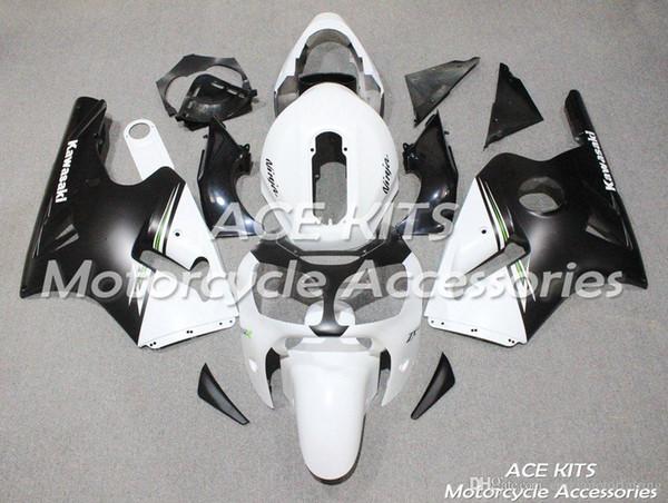 ACE KITS Carenatura moto Per KAWASAKI Ninja ZX12R 2000 2001 Iniezione o Compressione Carrozzeria Una varietà di colori NO.V498