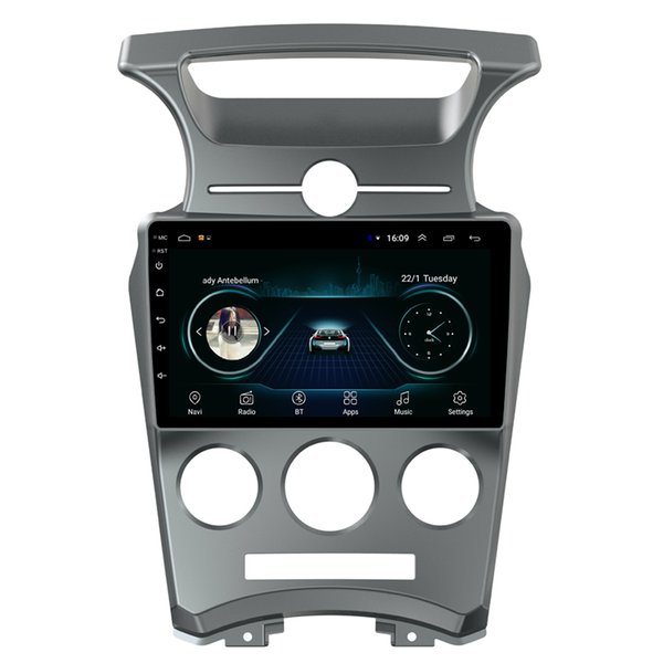Android HD car pc radio Music Resolution HD display Resolution 1024 * 600 USB for KIA Carens 2006 2007 2008 2009 201 2011 2012