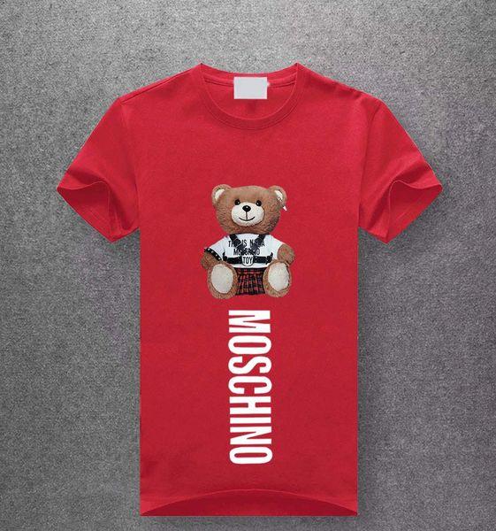 Moda para hombre camiseta nuevo diseñador camiseta europea popula americana impresión camiseta hombres mujeres parejas camiseta de lujo M-3XL