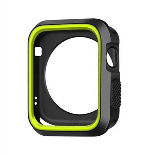 Sports Silicone Cases for apple watch 40mm 44mm 38mm 42mm Smart Watch Protector for iWatch Series 4 3 2 Cover Case Shock-resistant Soft