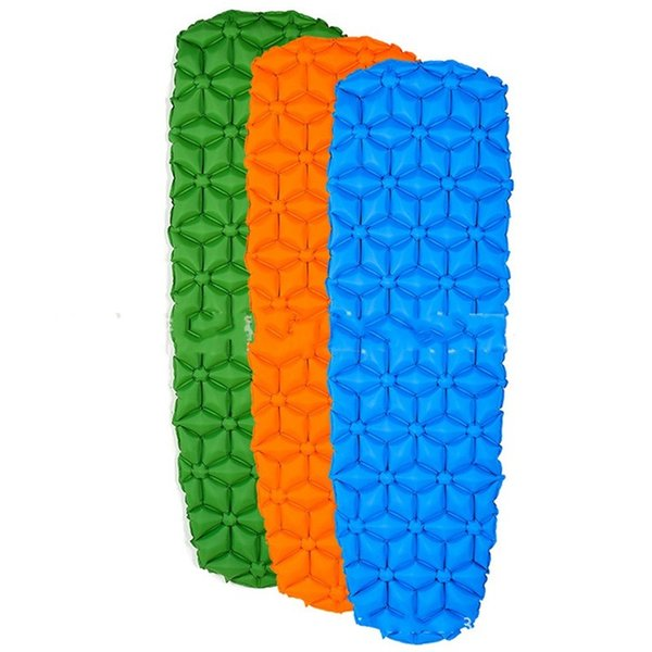 Nylon Single Person Nap Pad Washable Moisture Proof Inflatable Cushion Anti Wear Easy To Install Anti Ligation Mats Factory Direct 95yyI1