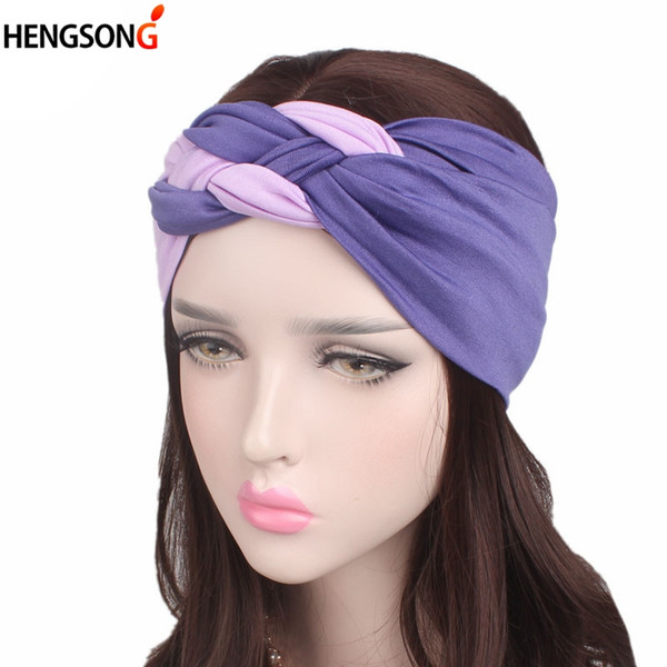 2019 New Headband Sport Women Yoga Hair Band Wide Sport Hair Band Women Yoga Headband Accessories
