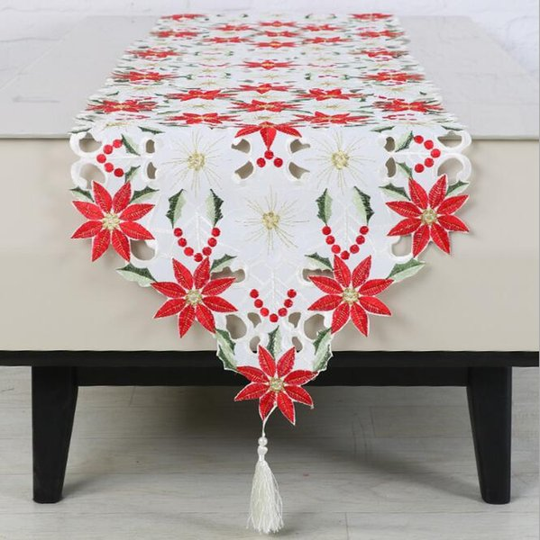 Tischdecke Tischläufer Tischtuch Küche Weihnachten Xmas Home Party