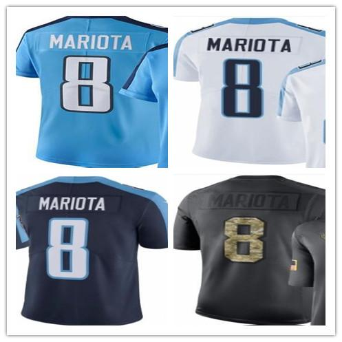 best cheap dbdc1 2f322 2019 Custom 2018 Tennessee Titan Sport Rugby Clothing 8 Marcus Mariota  Men/WOMEN/YOUTH Outdoor Clothing Legend Rush Baseball Jersey From Kksupper,  ...