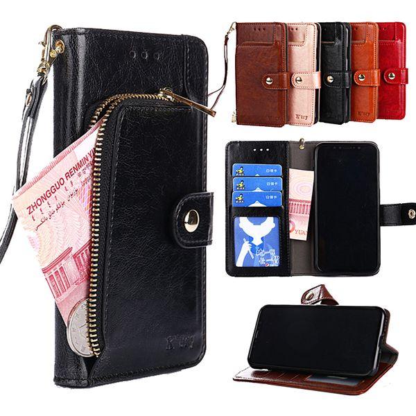 Leather Flip Case For Samsung Galaxy J2 J3 J4 + J5 J6 j7 J8 2015 2016 2017 pro 2018 prime J7 plus Core DUO Wallet Card Phone Bag