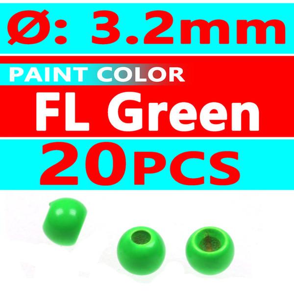 20pcs FL green 3.2