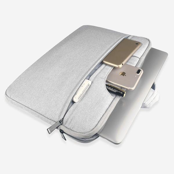 Litthing Große Kapazität Laptop-Handtasche für Männer, Frauen, Aktentasche Bussiness Notebook-Tasche für 13 15 Zoll Macbook Pro Dell PC # 563827