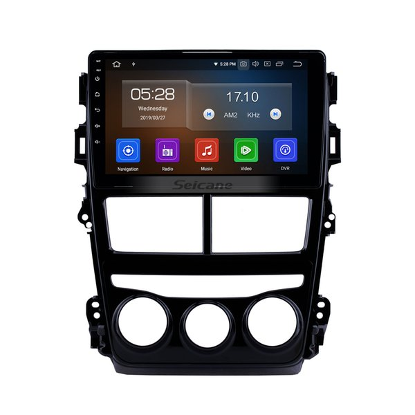 Quad-core Android 9.0 HD Touchscreen 9 inch Car GPS Navi Radio for 2018 Toyota vios With Bluetooth Phone support RDS Car dvd Backup Camera