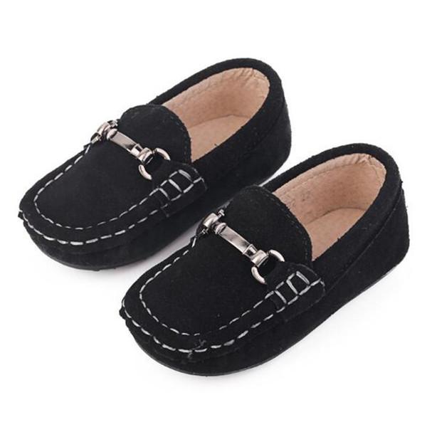 Compre Nuevos Mocasines Para Bebés Zapatos Para Niños Pisos Niño Pequeño Informal Parte Inferior Blanda Niños De Cuero Genuino Zapatos De Un Solo