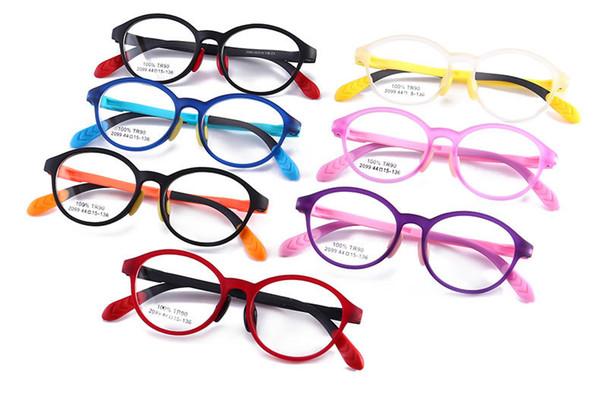 bef47b5257e HOT SALE optical frames for kids 2019 wholesale Brand Eyeglasses Retro  Fashion style oval metal frame eye glasses children spectacles