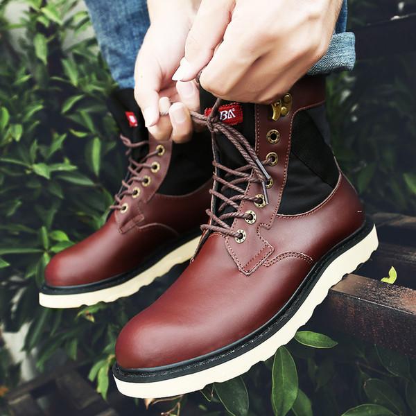 2019 mocassins populaires de la mode des hommes de la mode mocassins de qualité supérieure chaussures d'école brun