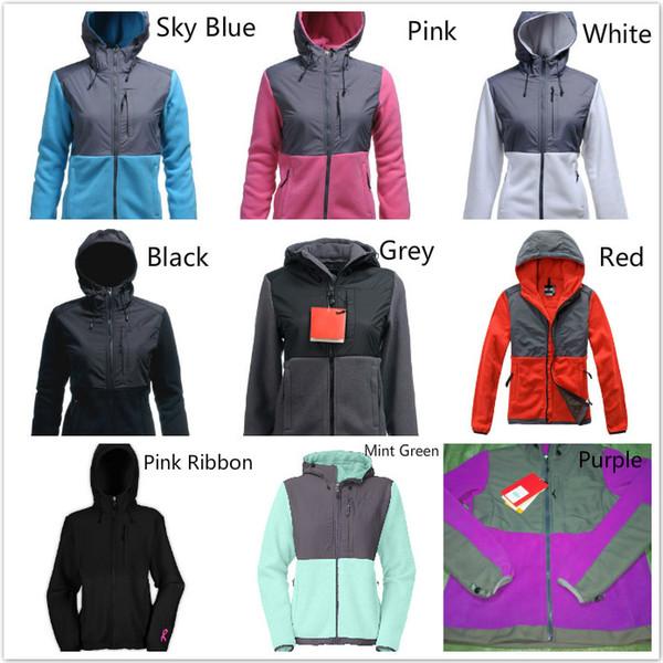 Мода Северных женщины Денали руно куртка вскользь теплой ветрозащитный Лыжной Face Детей Пальто Куртки Розового Мужчина Дети на лыжи вниз пальто SoftShell костюм