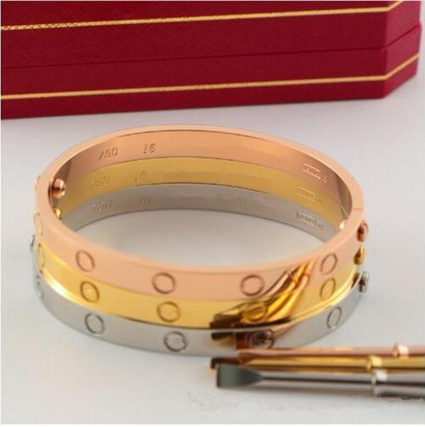 Bracciale in acciaio inossidabile 316L, bracciale con diamanti, bracciali e bracciali per uomo