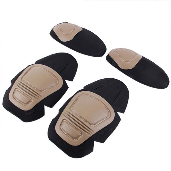 best selling Frog Suit Knee Pads Elbow Support Paintball Airsoft Kneepad Interpolated Knee Protector Set Outdoor Tactical Gear Combat Uniform
