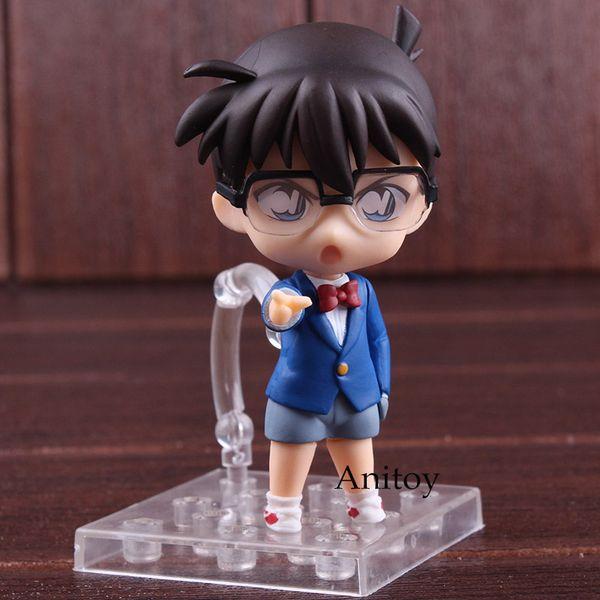 Nendoroid 803 Anime Detective Conan Edogawa PVC Figure Toy Gift New