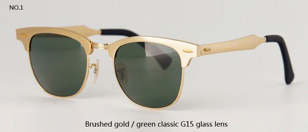 brushed gold w G15 lens