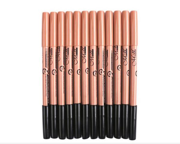 30set maquiagem eye brow Menow makeup Double Function Eyebrow Pencils & Concealer Pencils maquillaje X173