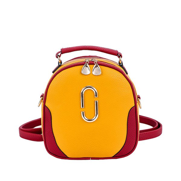 good quality New 2019 Advanced Pu Lady Women Messenger Casual Bags Fashion Female Crossbody Packages Saddle Bag Paper Clip