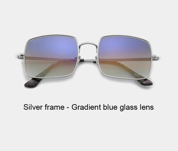 silver gradient blue