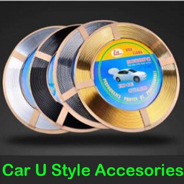 2019 Car Interior Decoration Accessories Strip Moulding Switch Grille Trim U Shape Sticker Door Sticker Protector From Supermarket2010 5 55