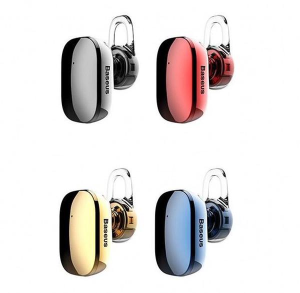 Baseus A02 Mini Bluetooth-Kopfhörer Freisprecheinrichtung Wireless Bluetooth Headset Kopfhörer mit Mikrofon 4.1 Ohrbügel Ohrhörer