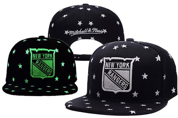 RANGERS Hockey NEW YOrK knit Beanies Embroidery Adjustable Hat Embroidered Snapback Caps Black Gray White Stitched Hats One Size 08