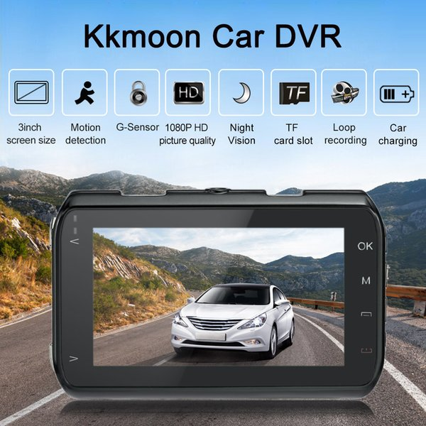 Freeshipping 1080P Full HD 3.0'' Car DVR 170 Degree Wide Angle Night Vision Camera Video Recorder Auto Dash Cam Vehicle Camcorder HDMI