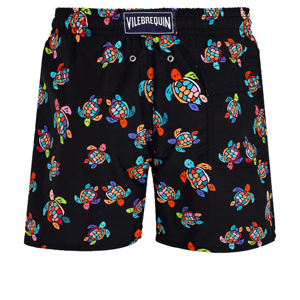 top popular Vilebrequins MEN SWIMWEAR HERRINGBONES TURTLES Newest Summer Casual Shorts Men Fashion Style Mens Shorts bermuda beach Shorts 028 2021
