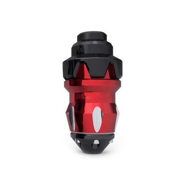 Protector de caída rojo Protector de la motocicleta Control deslizante Tapas antibloqueo Kits de protección del motor contra choques y rasguños
