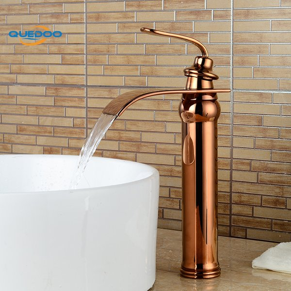 Bath Basin Faucet Brass Copper Finished Faucet Sink Mixer Tap Vanity Hot Cold Water Bathroom Faucets