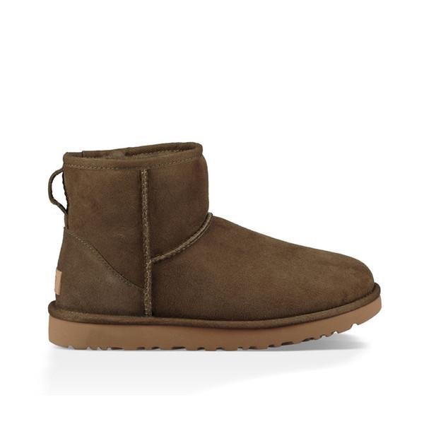 A21 Classic Mini Boot - Brown