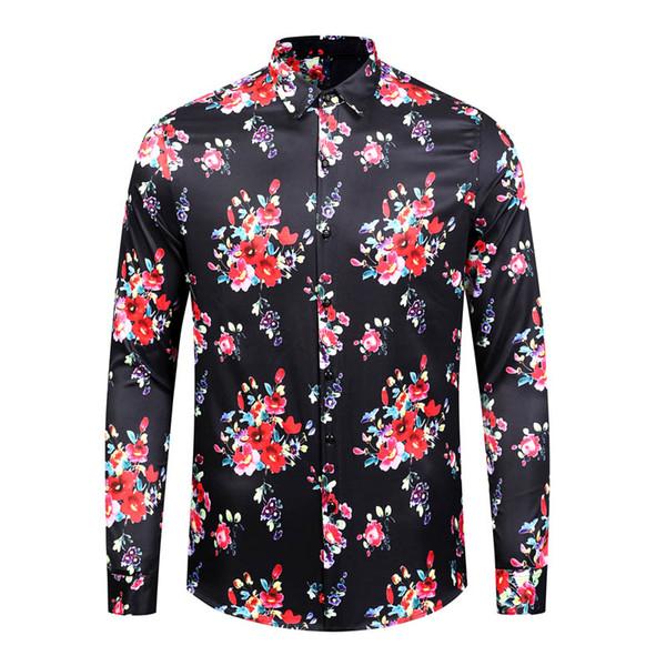 10 Adet Lot DHL ücretsiz gönderim Yeni Medusa Günlük Gömlek Erkekler Slim Fit Gömlek Moda Casual Gömlekler Erkek gömlek Tasarımları