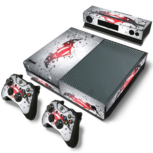 Fanstore Skin Sticker Vinyl Decal Decorative Wrap for Xbox One Console and 2 Remote Controller